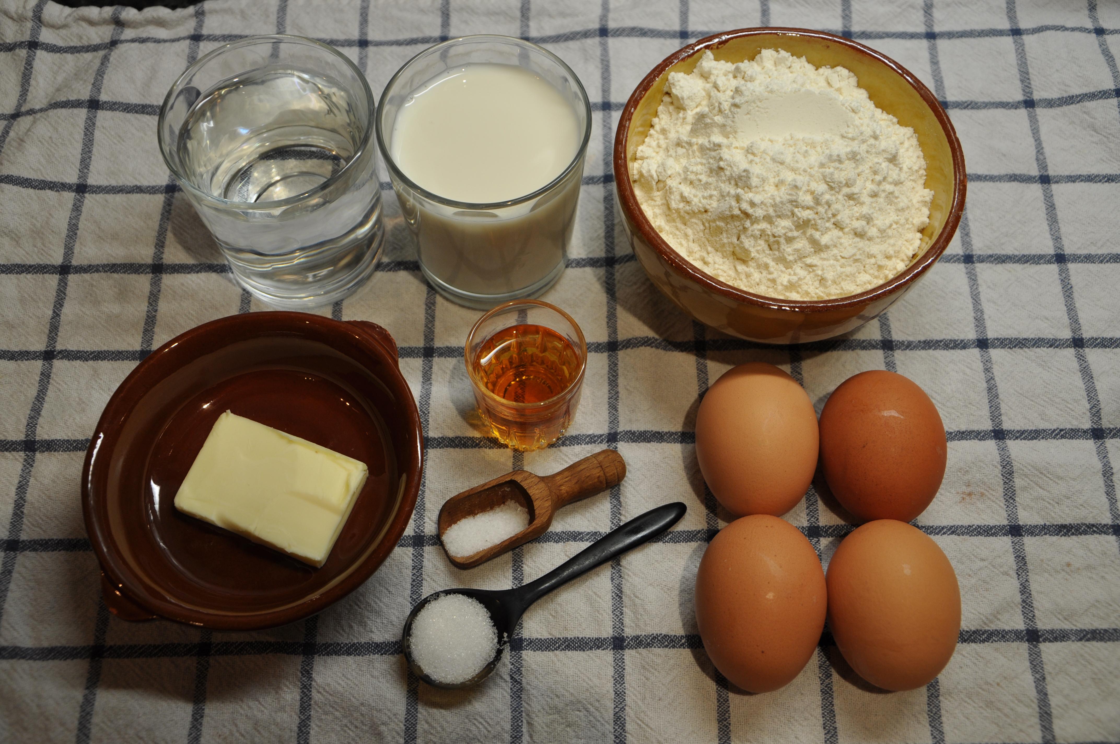 Cr pes la sencillez bien cocinada siempre es deliciosa - Ingredientes para crepes ...